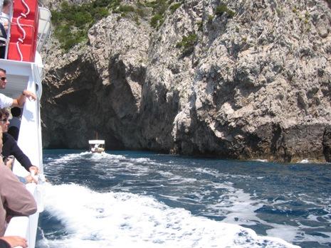 11-0531 カプリ島緑の洞窟