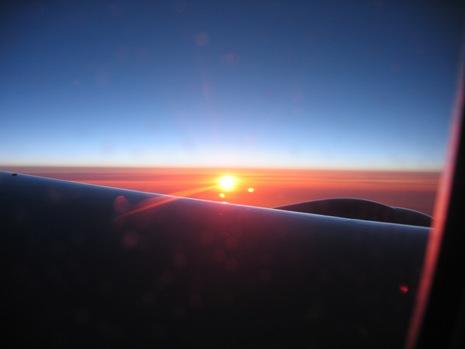 0528 イタリア旅行 飛行機から4