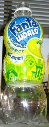 ファンタ ワールド カリフォルニア グレープフルーツ