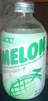 UCCメロンクリームソーダ(80年代後半〜90年代初期頃)