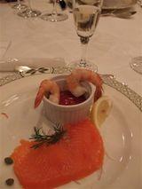 2008年新年を祝うプレステージイベントにてプライムリブとワイン4種を満喫!