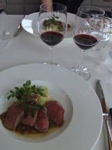 鴨と赤ワイン