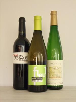 サンク・センスに待望の再入荷!他にないビオワイン3本をご紹介します