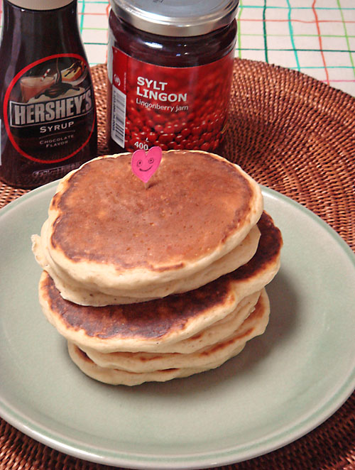 valentines pancakes 2017