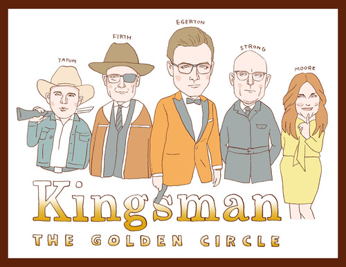 キングスマン ゴールデン・サークル