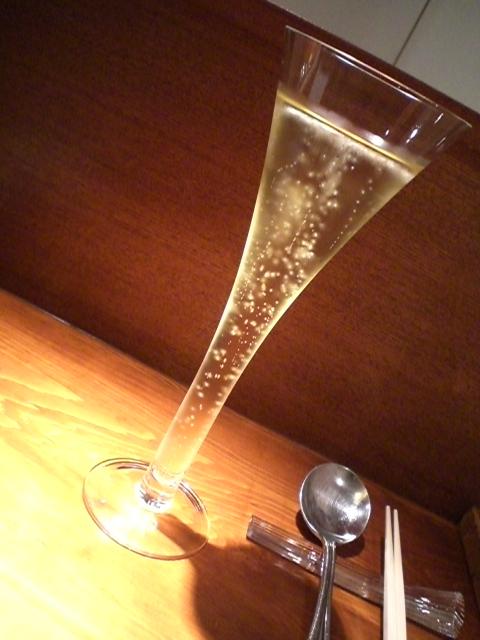 champagne 乾杯!