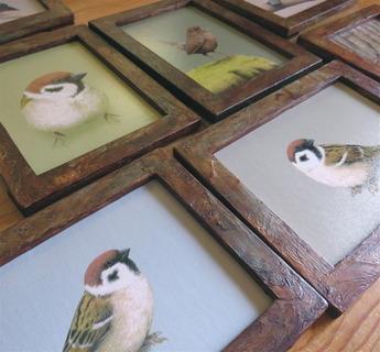 鳥の絵がはいりま