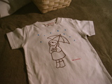 手描きシャツ