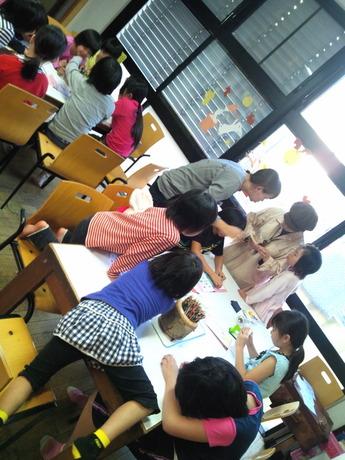 ぬりえ教室1410月