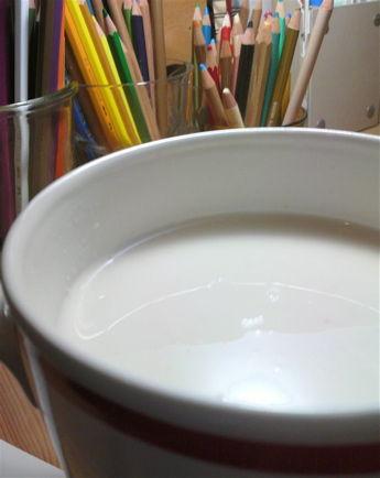 甘酒ミルク