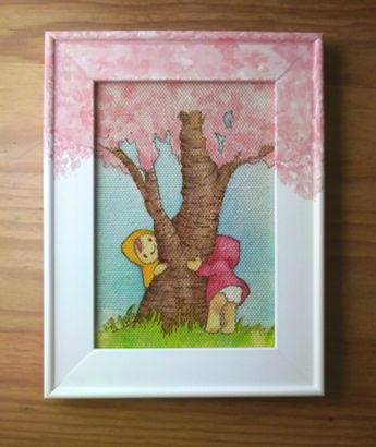 桜の樹のしたで