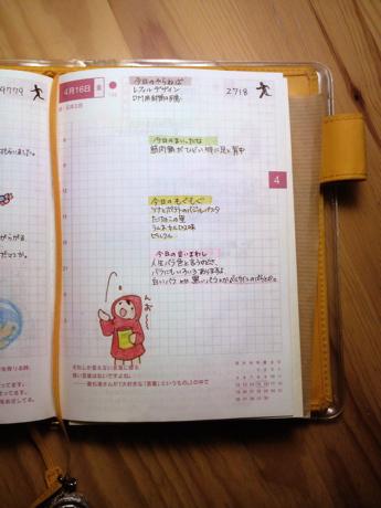 ほぼ日手帳(100416)
