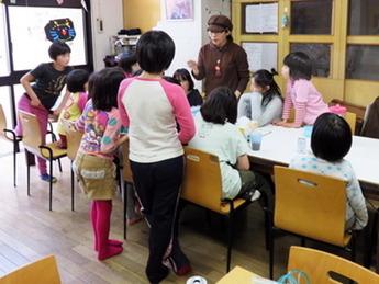 ぬりえ教室153-1
