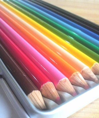 まぎぃちゃんにもらった色鉛筆