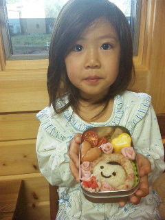 美桜ちゃんポンチャ弁当2