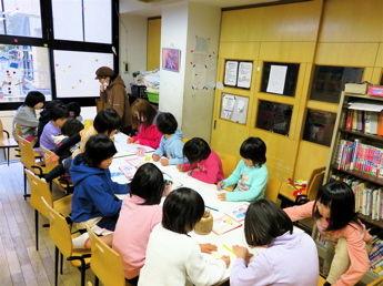 ぬりえ教室201412