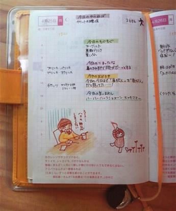 ほぼ日手帳の使い方