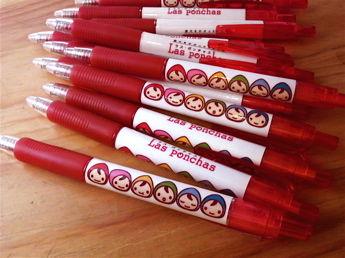 赤ボールペン顔