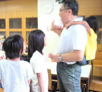 ぬりえ教室14082