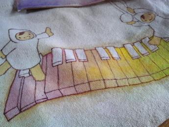 手描きピアノ