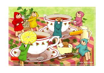 紅茶をどうぞ