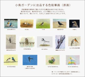 小鳥ガーデン出品原画