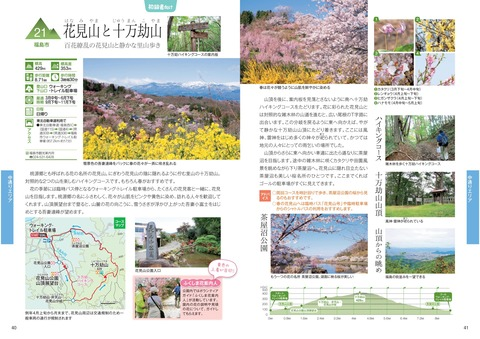 花見山と十万劫山