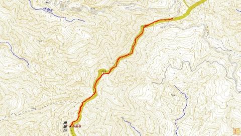 真昼岳ハイキング(峰越峠ルート)