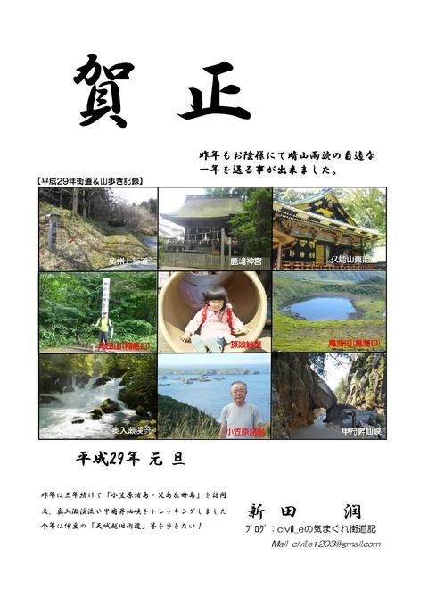 年賀状(2019)A4版