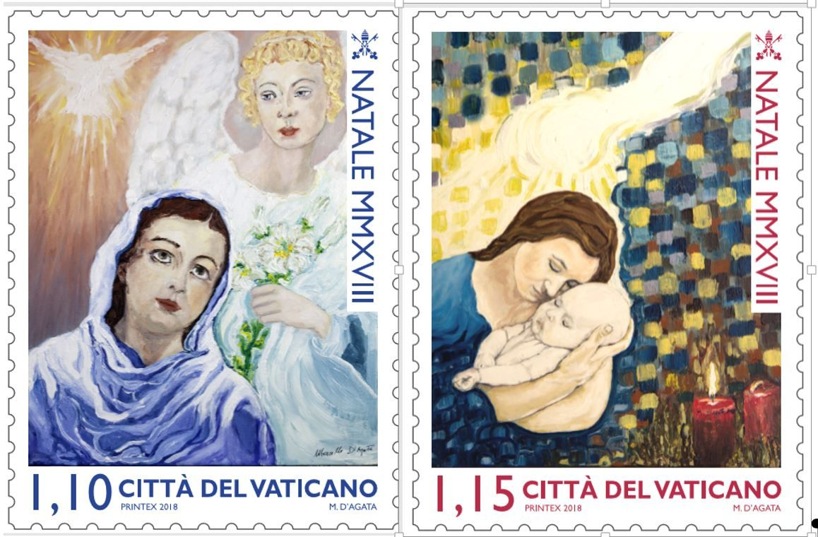 バチカン記念切手2018