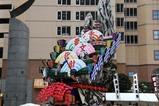 ひたち秋祭り郷土芸能大祭09-10-11(6a)日立風流物東町支部表山