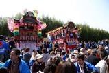 西金砂神社小祭礼09-3-21(6)和田祭場余興