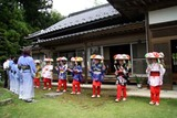 南須釜の念仏踊り10-8-14(5)K家
