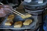みなと産業祭餅焼き