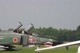 百里基地航空祭航過飛行RF4
