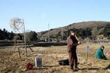 しなやかな竹の空間演奏アートサイト八郷2010