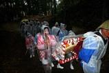 西金砂神社小祭礼09-3-22(4)C花まとい繰り込み