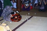 水海道大塚戸の綱火(3)神楽舞本殿