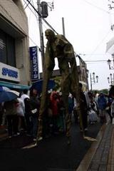 ひたち国際大道芸ダークラクー