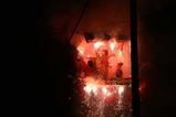 つくばみらい市小張の綱火06-08-24