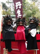 高萩丹生神社棒ささら03-04-13b選抜