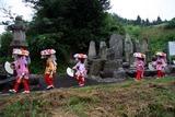 南須釜の念仏踊り10-8-14(2)支度