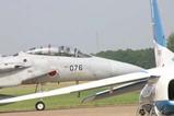 百里基地航空祭航過飛行F15