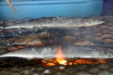 那珂湊さんま祭り07-09-30a炭火焼き