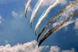 百里基地航空祭ブルーインパルス五機1