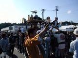 日立お魚センター秋の味覚祭り久慈浜神輿会