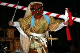 西金砂神社小祭礼09-3-21(8)太田馬場祭場田楽
