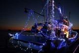 大津港船のクリスマス