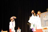 二本松伝統芸能祭12-02-26(3)大和舞田沢熊野神社太々神楽
