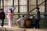 西塩子の回り舞台08-11-02(3)将門練習